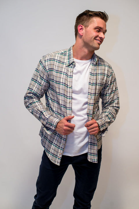 Cool It Down Button-Up by Raleigh Denim