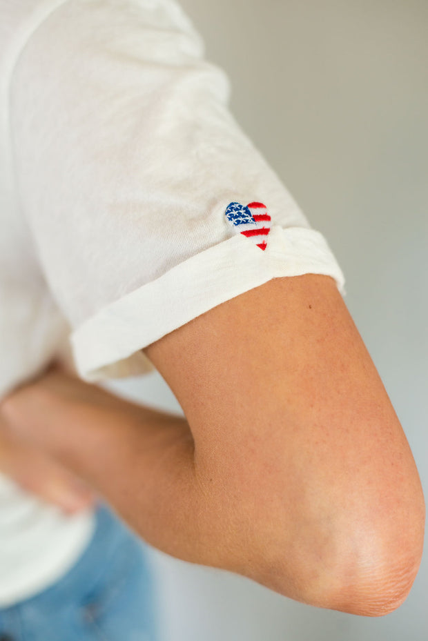 For the Love of America Tee by Project Social T