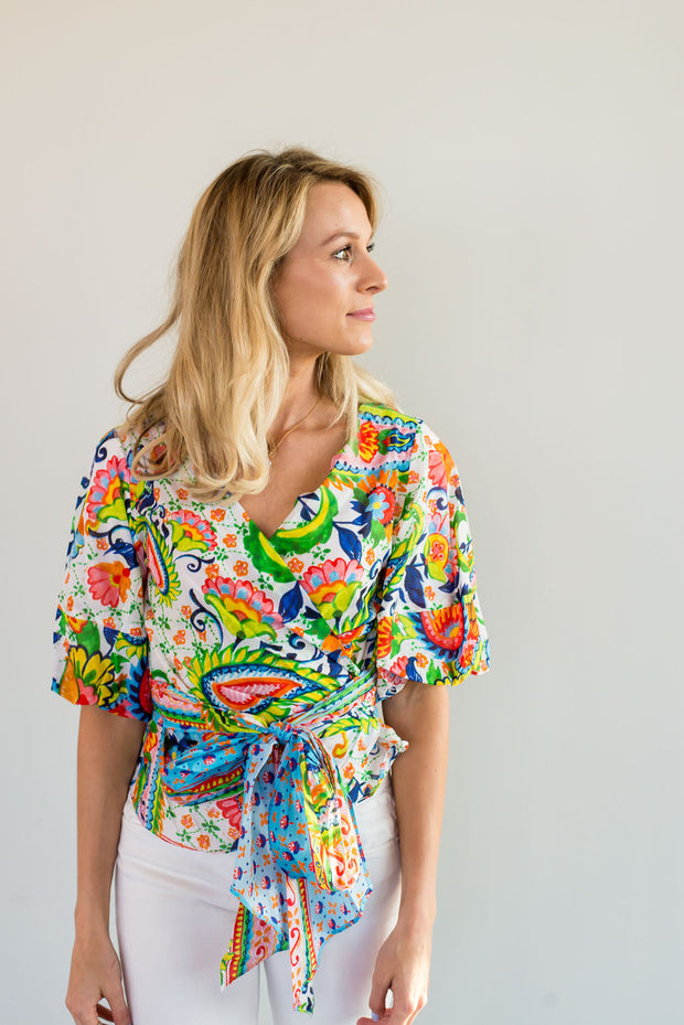 The Garden Party Blouse by Amanda Uprichard | FINAL SALE