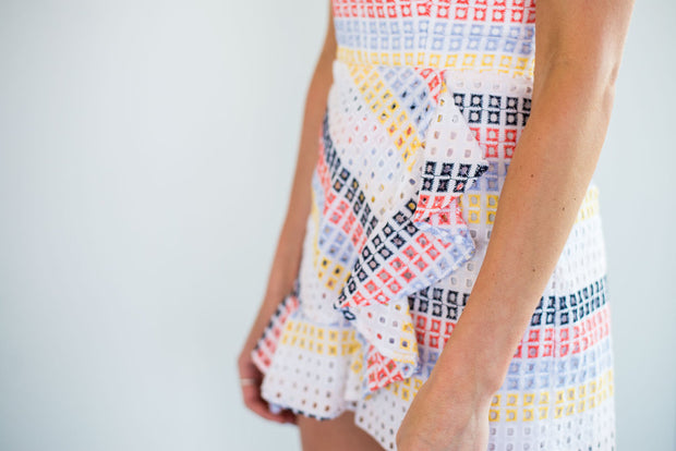 The Sherbert Stripe Romper