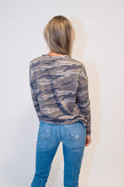 Camo Long Sleeve Tee