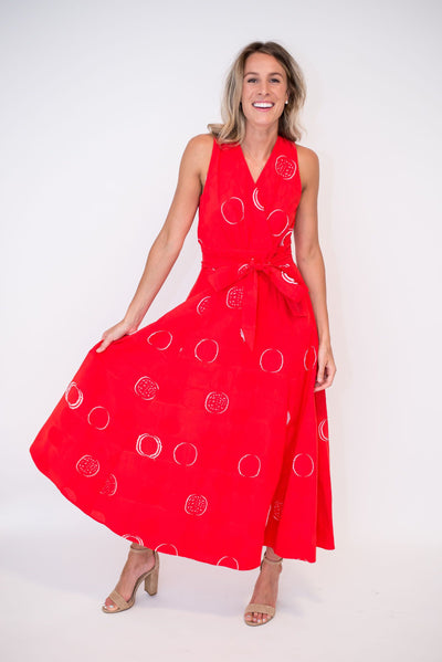 The Ruby Woo Dress
