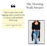 The Morning Walk Sweater by Sen