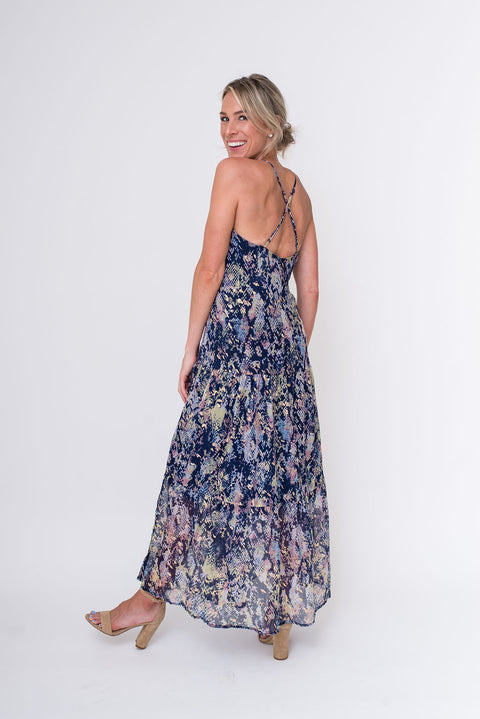Take A Walk On the Wild Side Maxi Dress