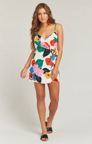 Say Jay Becky Blooms Wrap Dress by Show Me Your Mumu | FINAL SALE