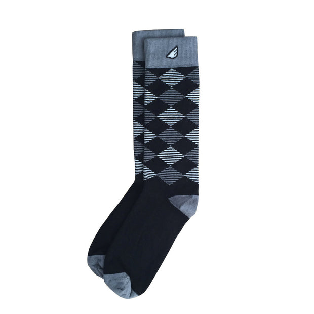 Argyle is the New Black Socks by Boldfoot Socks | FINAL SALE