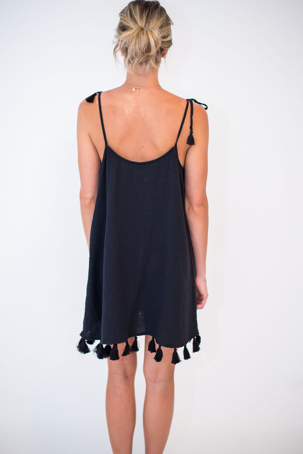 Throw and Go Tassel Mini Dress by Show Me Your Mumu | FINAL SALE