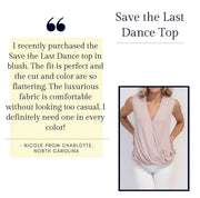 Save the Last Dance Top