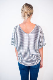The Stripe Basic Tee