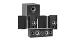 "Debut 2.0 5-1/4"" 5.1 Home Theater Speaker System (Bookshelf Based)"