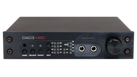 BENCHMARK DAC3 HGC - DIGITAL TO ANALOG AUDIO CONVERTER