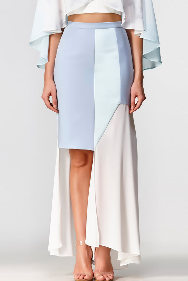 Dawn Asymmetrical Skirt - Multi