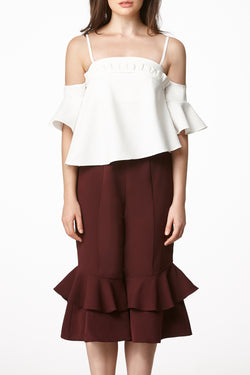 MOS NOW Culottes - Maroon