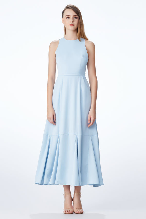 SS'18 Maxi Dress - Pastel Blue