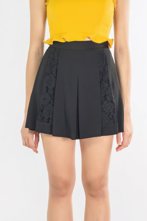 LNR'19 Pleated Skort - Black