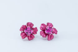 Flower Earring - Pink