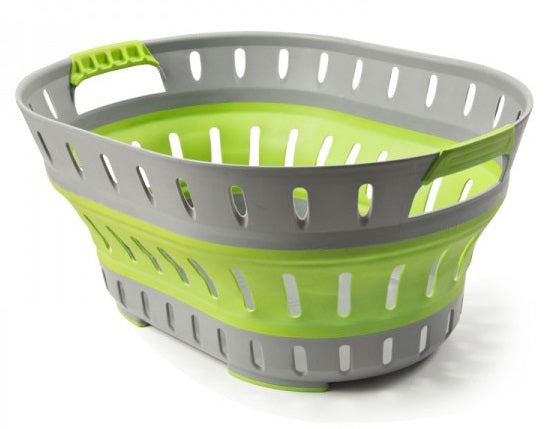 Companion Pop Up Laundry Basket Green