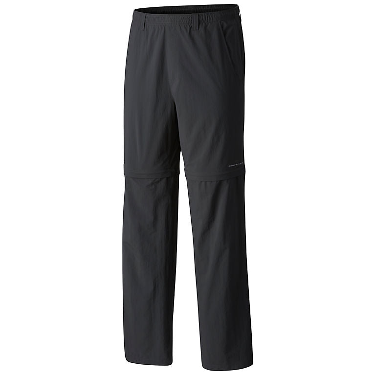 Columbia PFG Backcast Mens Convertible Pants Grill