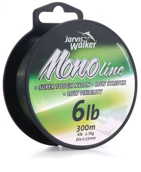 Jarvis Walker Monofilament Green Fishing Line 300m