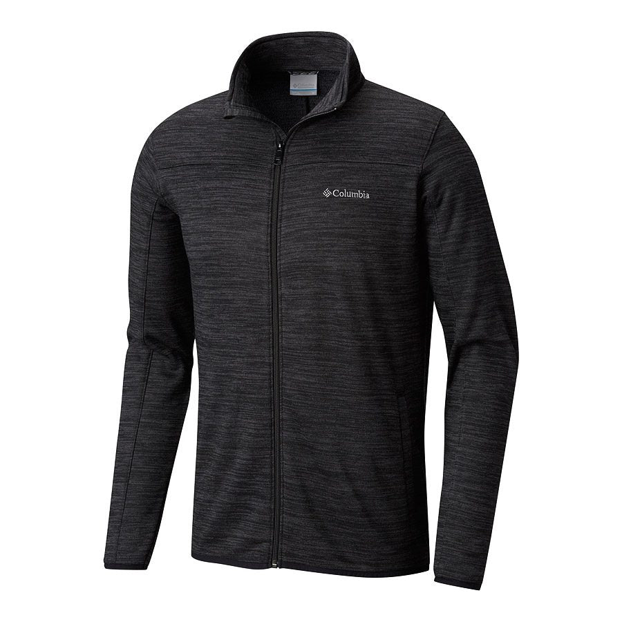 Columbia Birch Woods II Full Zip Mens Fleece Black