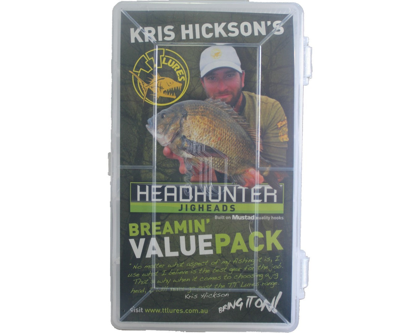 Tackle Tactics Head Hunter Breamin Pack