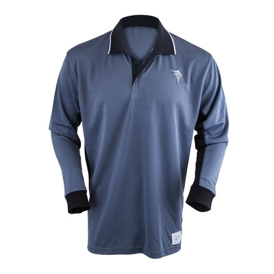 Jarvis Walker Long Sleeve Grey Black Adult Fishing Shirt
