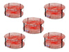 5 Pack Bulk Wilson Orange Heavy Duty Round Crab Pots