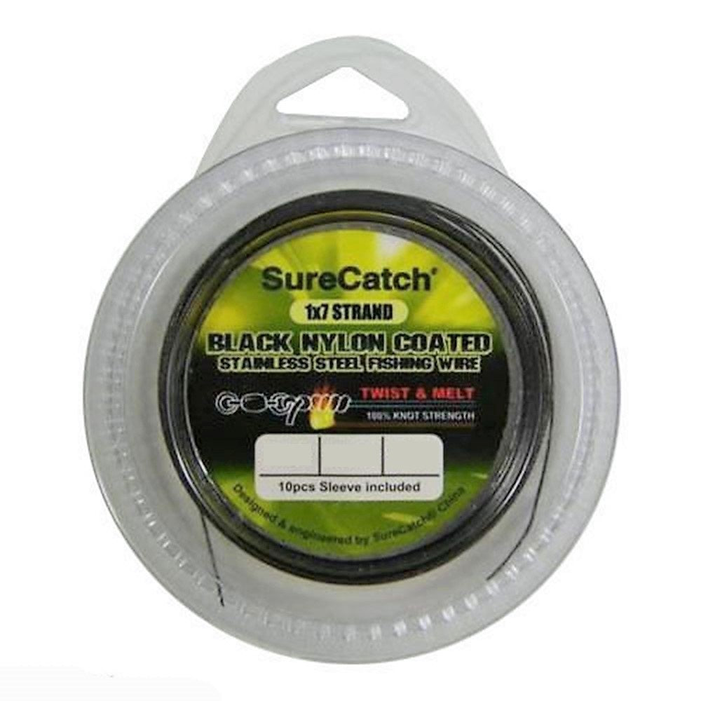 Sure Catch Nylon Coated Wire 10M
