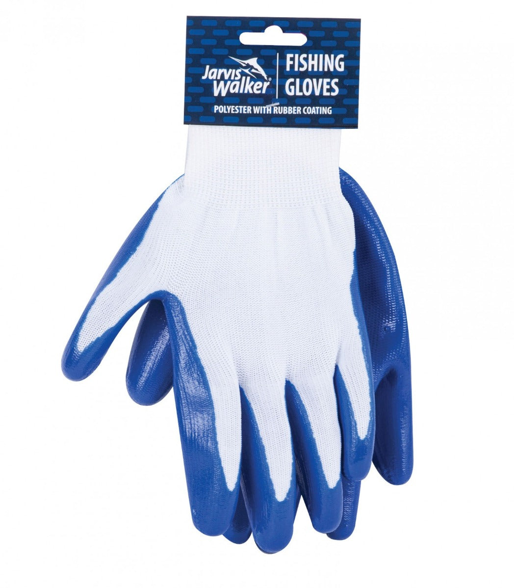 Jarvis Walker Blue Fishing Gloves