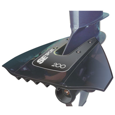 SE Sport 200 High Performance Turbo Curved Outboard Hydrofoil - Black
