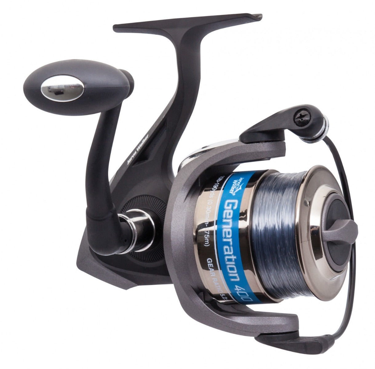 Jarvis Walker Generation Spooled Spinning Reel
