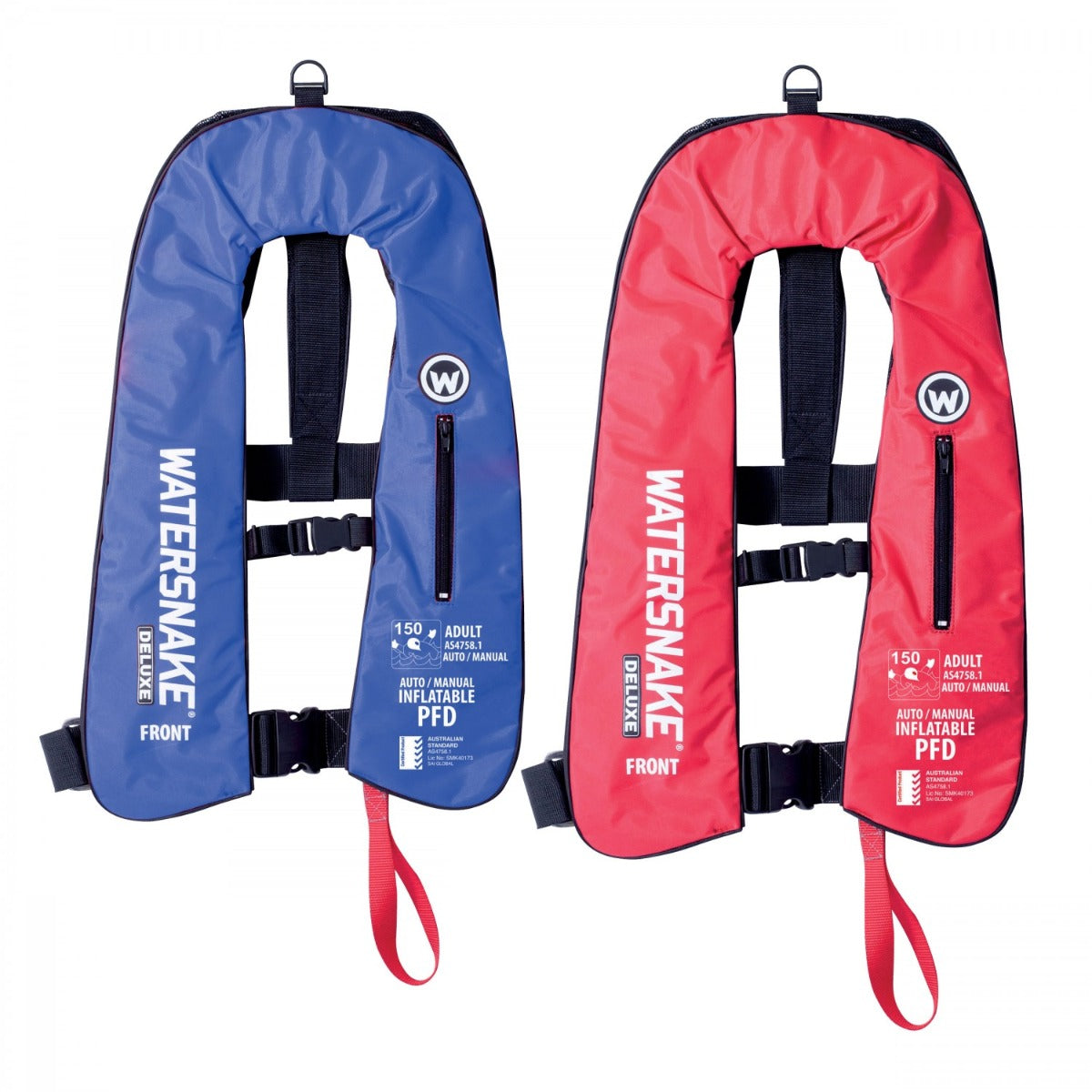 Watersnake Auto/Manual Inflatable PFD Level 150 Adult