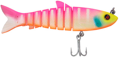 Zerek Live Mullet 3.5 Inch Jointed Soft Plastic Fishing Lure