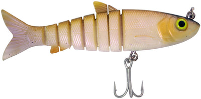 Zerek Live Mullet 5.5 Inch Jointed Soft Plastic Fishing Lure