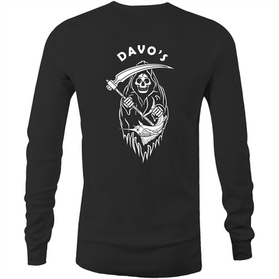 Davo's Tackle Reaper Long Sleeve