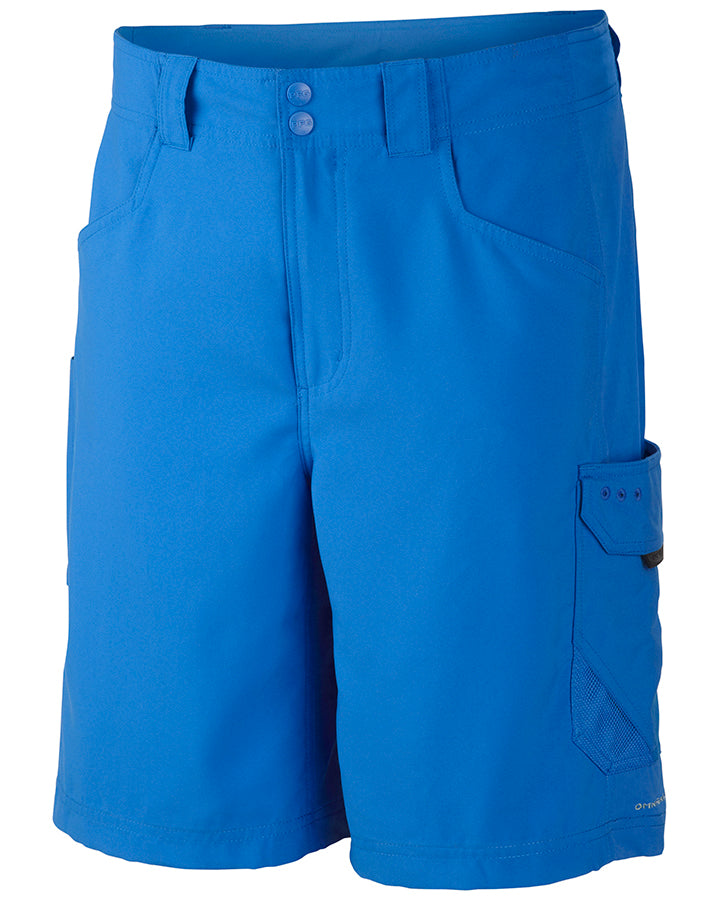 Columbia PFG Big Katuna II Mens Shorts Vivid Blue