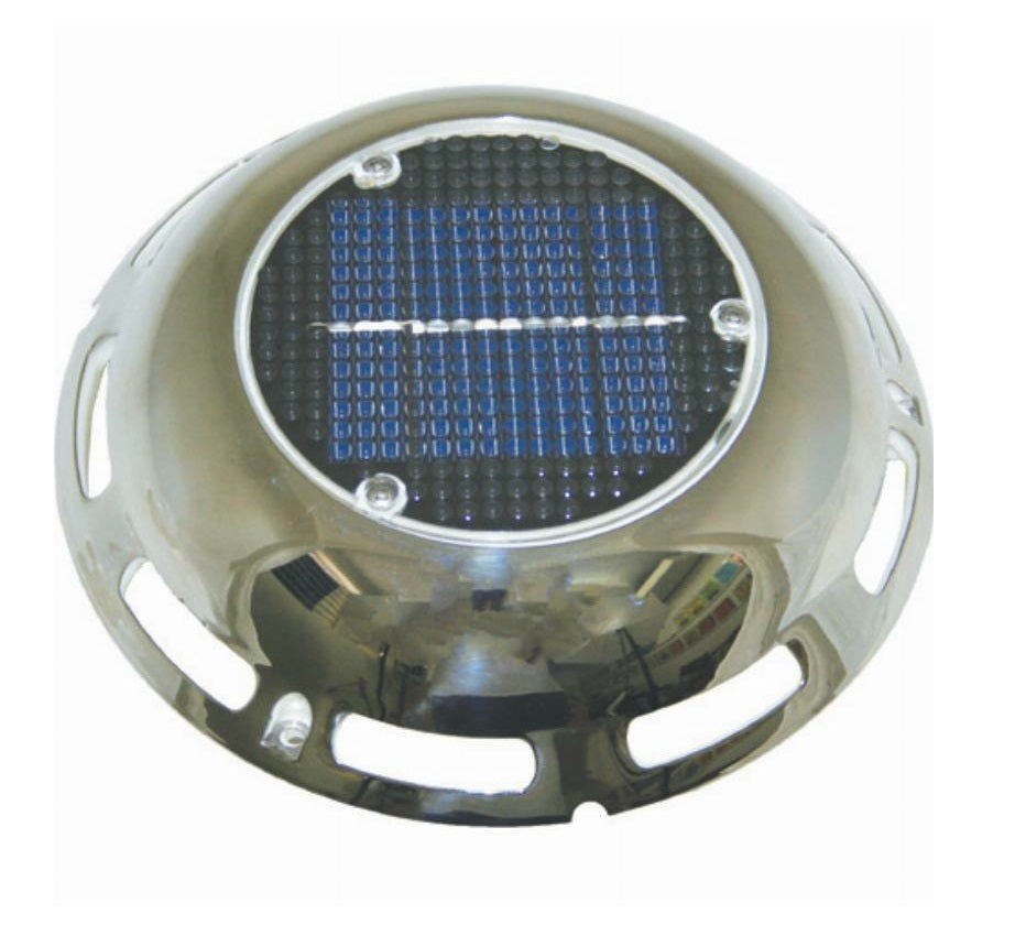 AAA Stainless Steel Solar Powered Vent