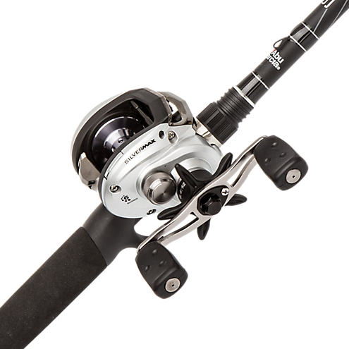 Abu Garcia Silver Max Rod and Reel Combo - 661M - SMAX3