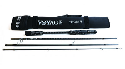 Bone Voyage Travel Rod