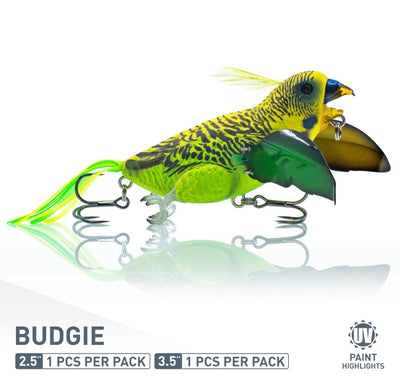 Chasebaits The Smuggler Budgie Bird Surface Walker Topwater Lure