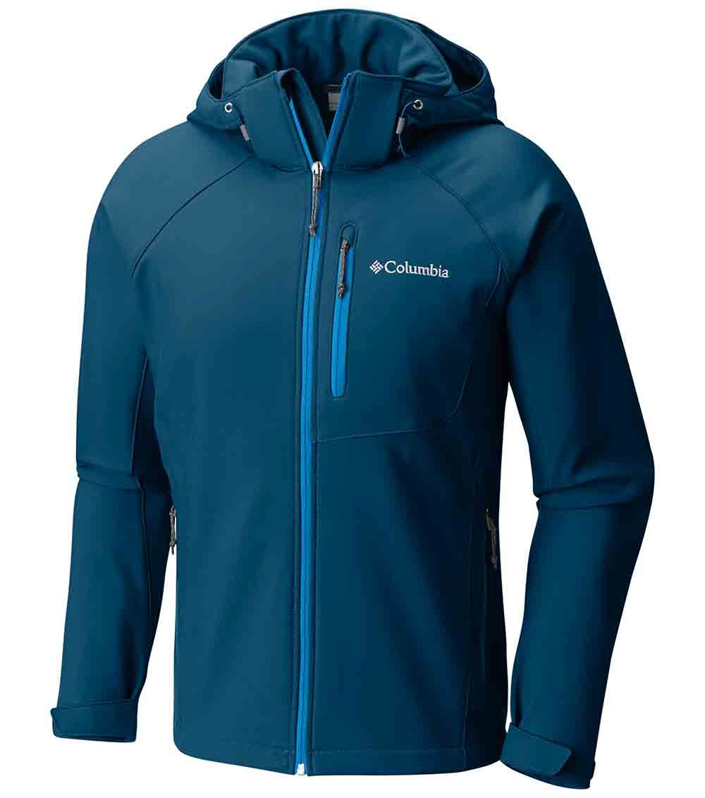 Columbia Cascade Ridge II Softshell Mens Jacket Blue