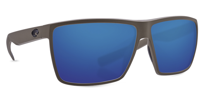 Costa Del Mar Rincon Matte Moss Frame Polarised Sunglasses - Blue Mirror 580G