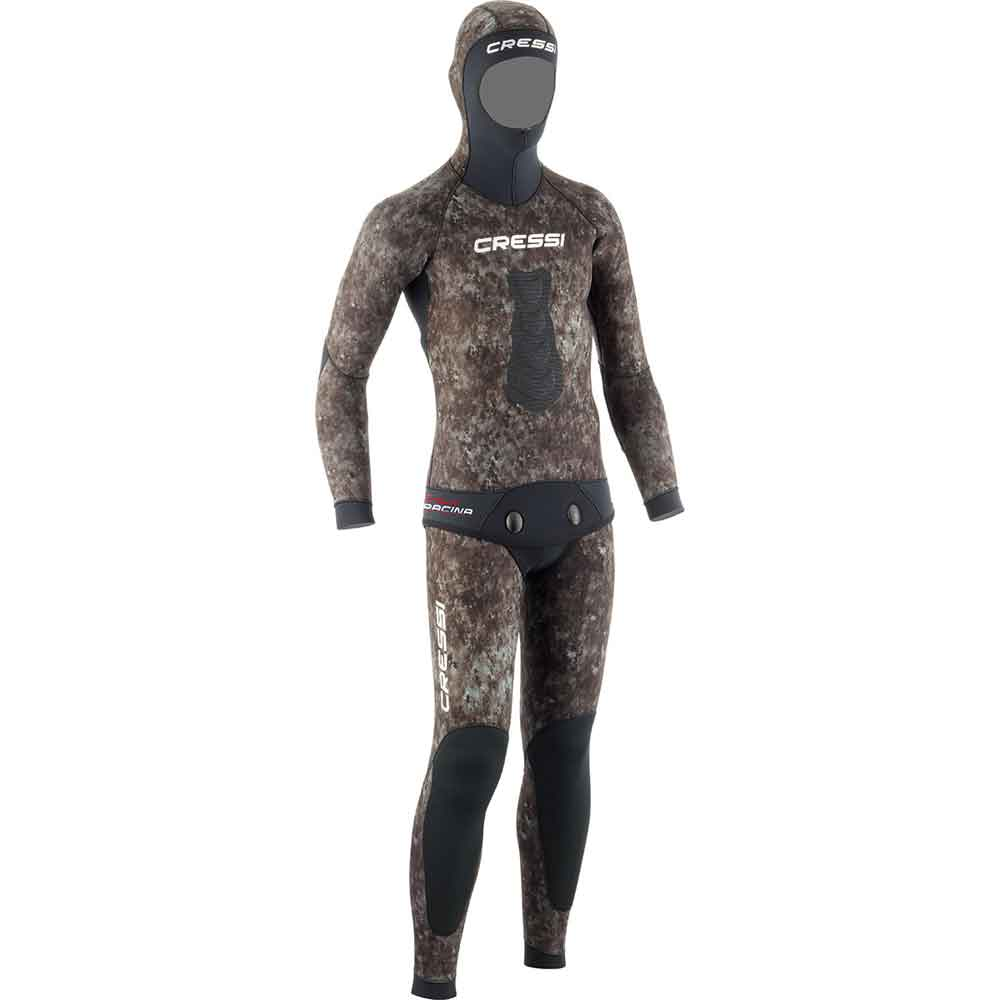 Cressi Tracina 3.5mm Two-Piece Mens Camo Wetsuit