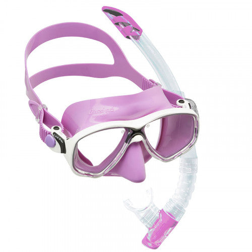 Cressi Marea VIP Colorama Mask and Snorkel Set