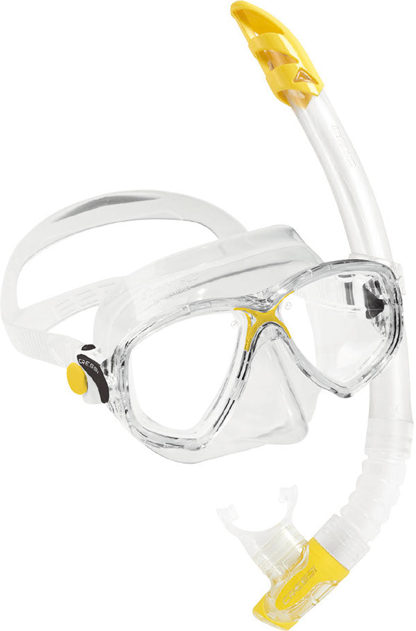 Cressi Marea VIP Mask and Snorkel Set
