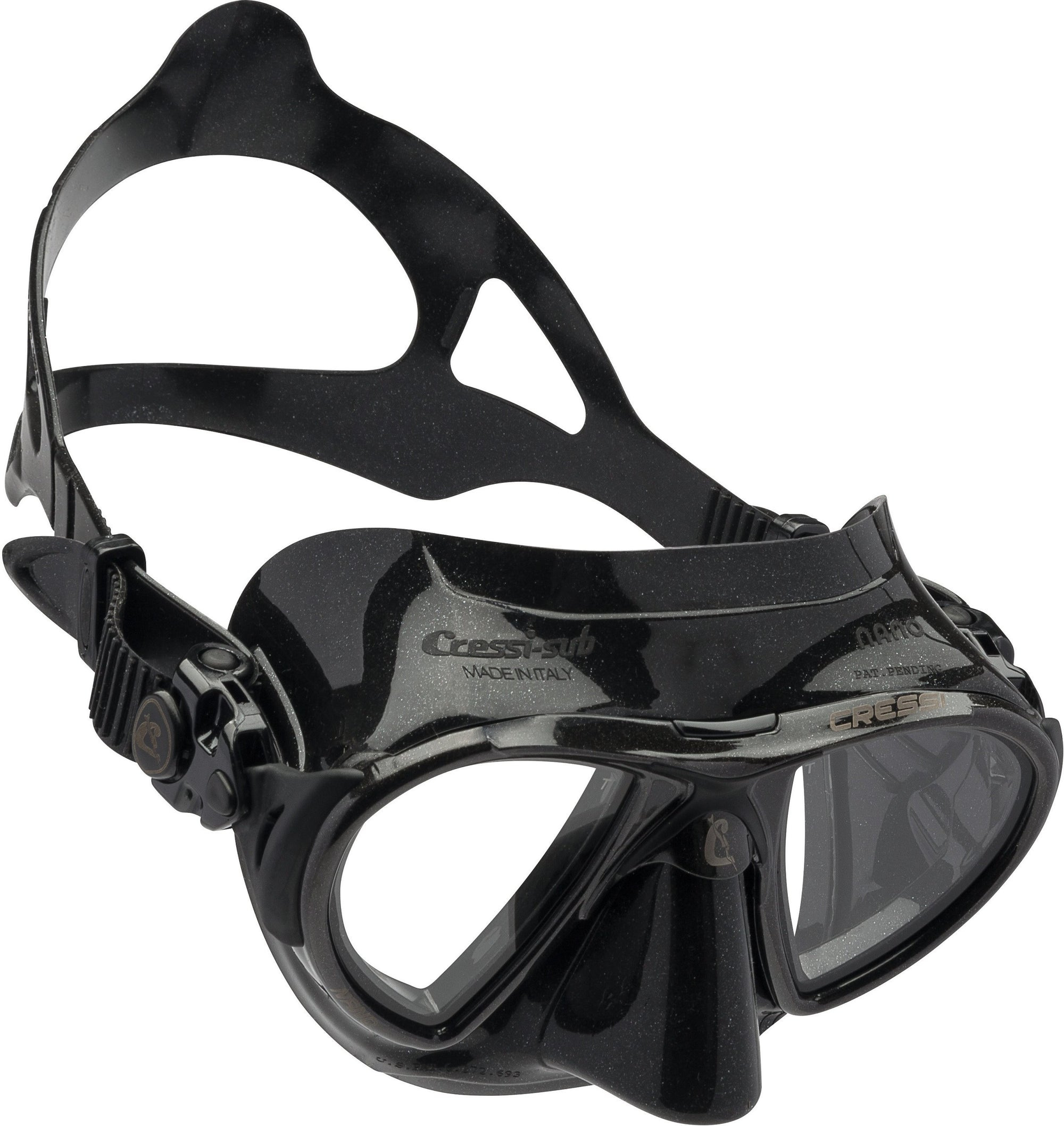 Cressi Nano Black Frame Dive Mask