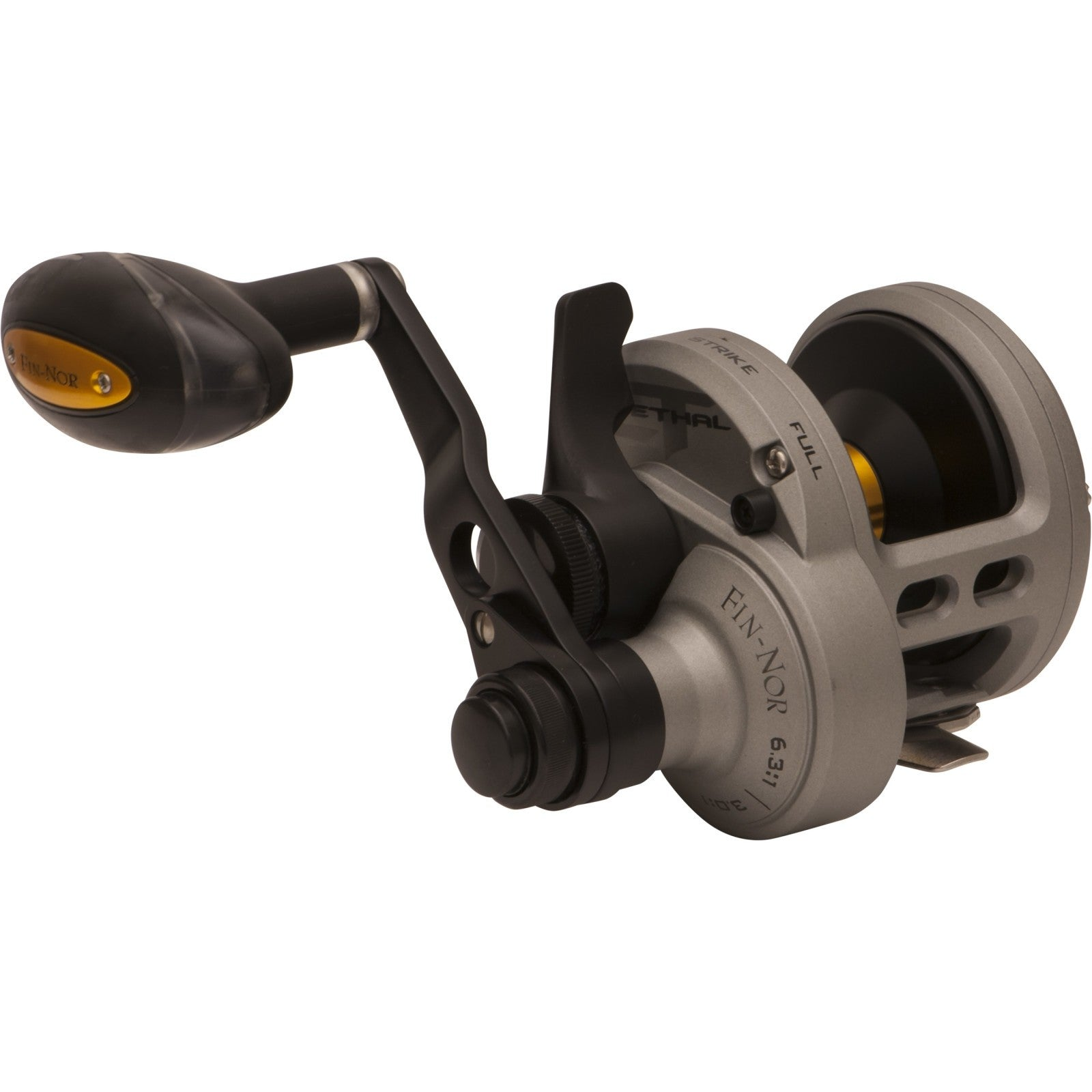 Fin Nor Lethal Lever Drag Two Speed Overhead Reel