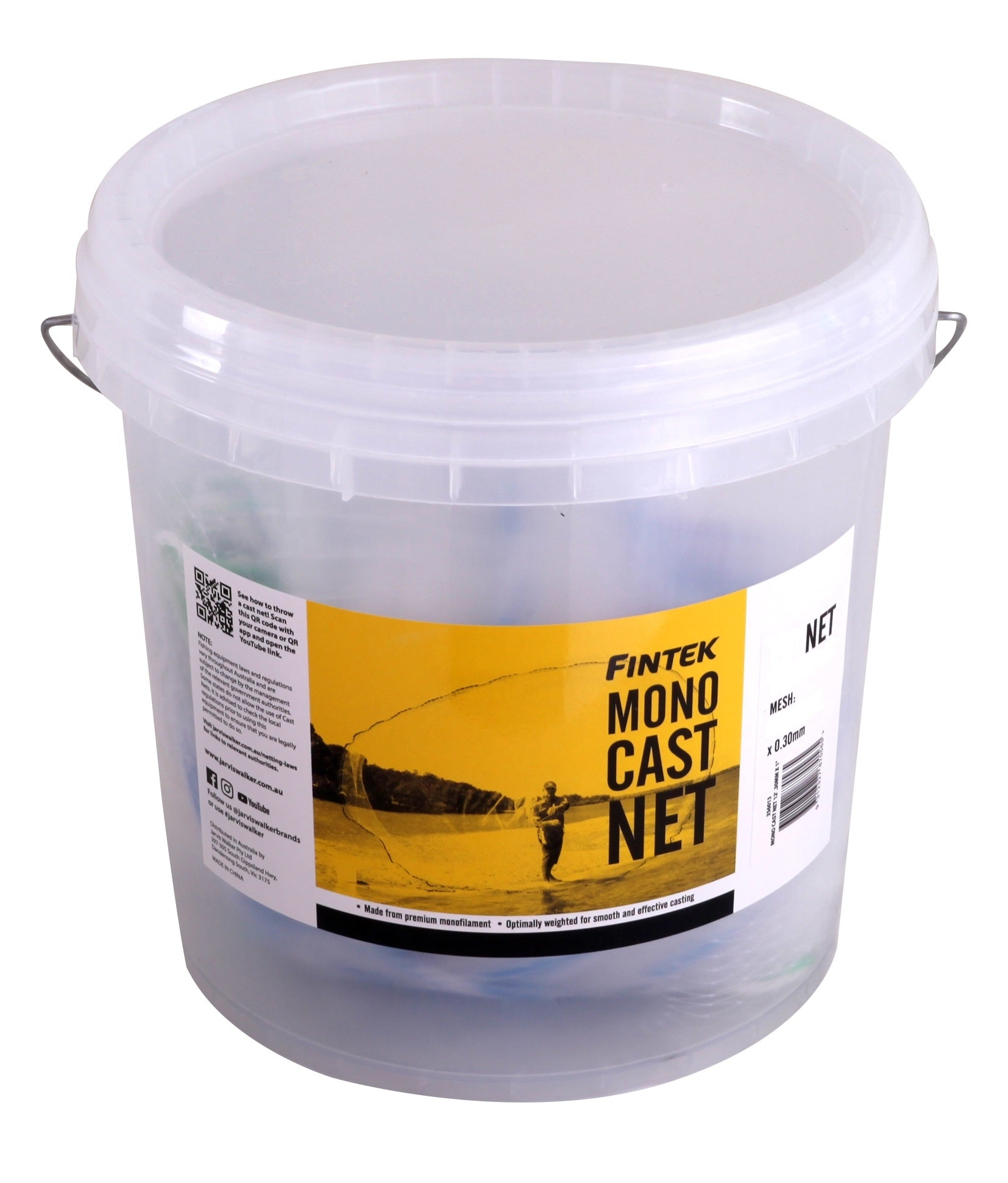 Fintek Bottom Pocket Cast Net
