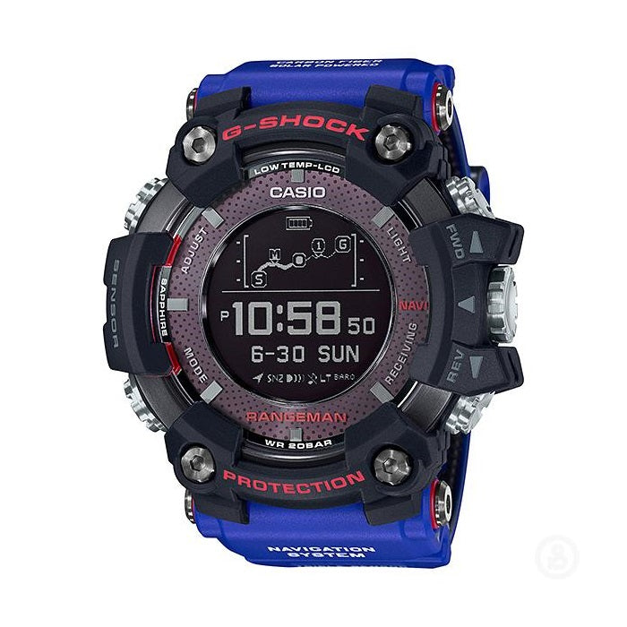 Casio G Shock Rangeman x Toyota Landcruiser GPR-B1000TLC-1 GPS Watch