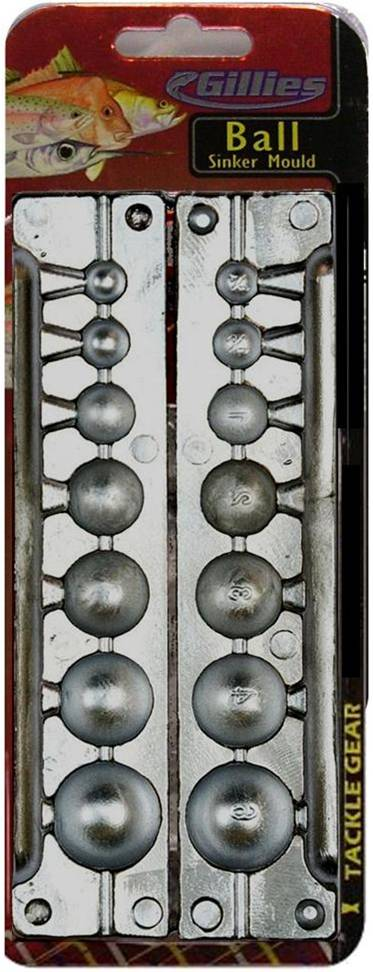 Gillies Ball Sinker Mould Combo